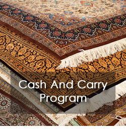 Pro-Care offers a Cash and Carry Program for their Area Rug Cleaning, Oriental and Persian Rug Cleaning and all custom rug cleaning.