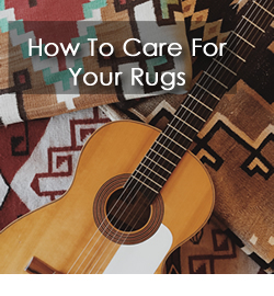 Learn how to care for Oriental Rugs, Persian Rugs, Area Rugs and other custom rugs.
